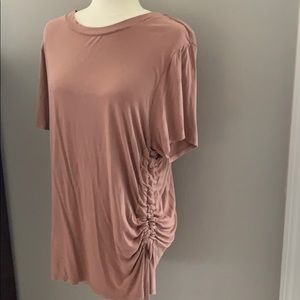 Nordstrom Emelia Rose side tie tee tunic